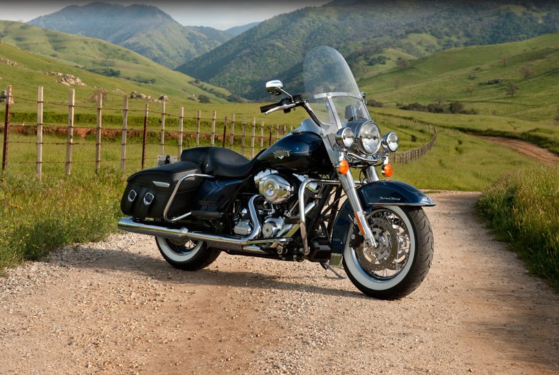 harley-davidson road king classic-pic. 2