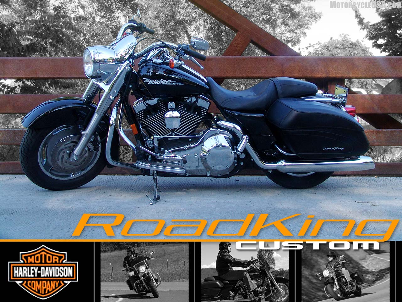 harley-davidson road king custom-pic. 1