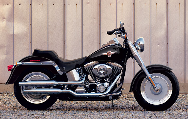 harley-davidson softail fat boy-pic. 1