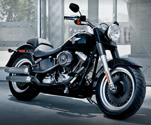 harley-davidson softail fat boy-pic. 2