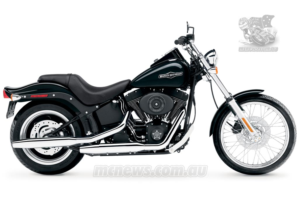 harley-davidson softail night train-pic. 3