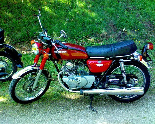 honda cb 125 k5 photos and comments. Black Bedroom Furniture Sets. Home Design Ideas
