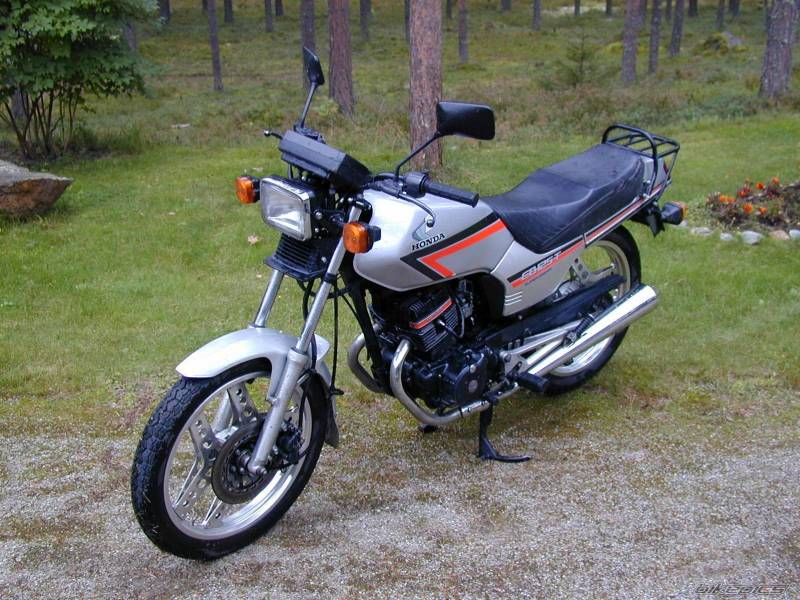 honda cb 125 td photos and comments. Black Bedroom Furniture Sets. Home Design Ideas