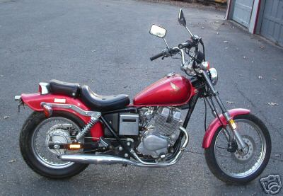 honda cmx 250 c rebel #6