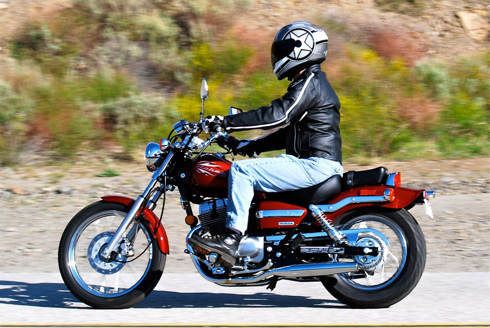 honda cmx 250 c rebel #7