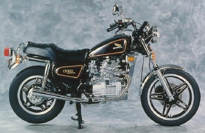 honda cx custom #2