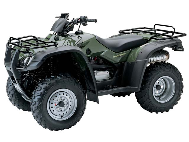 honda fourtrax rancher 4x4-pic. 2