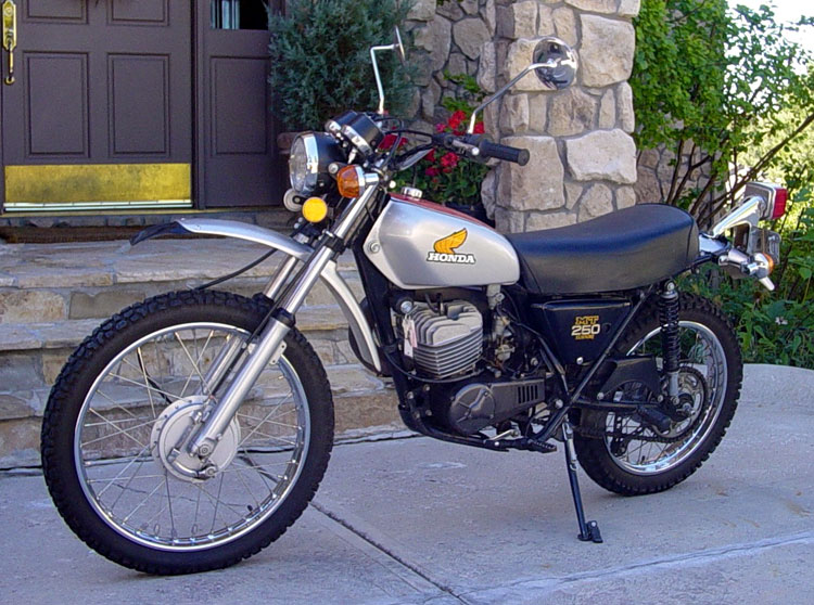 honda mt 250 elsinore #0