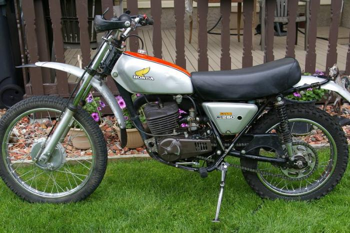 honda mt 250 elsinore #2