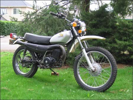 honda mt 250 elsinore #3