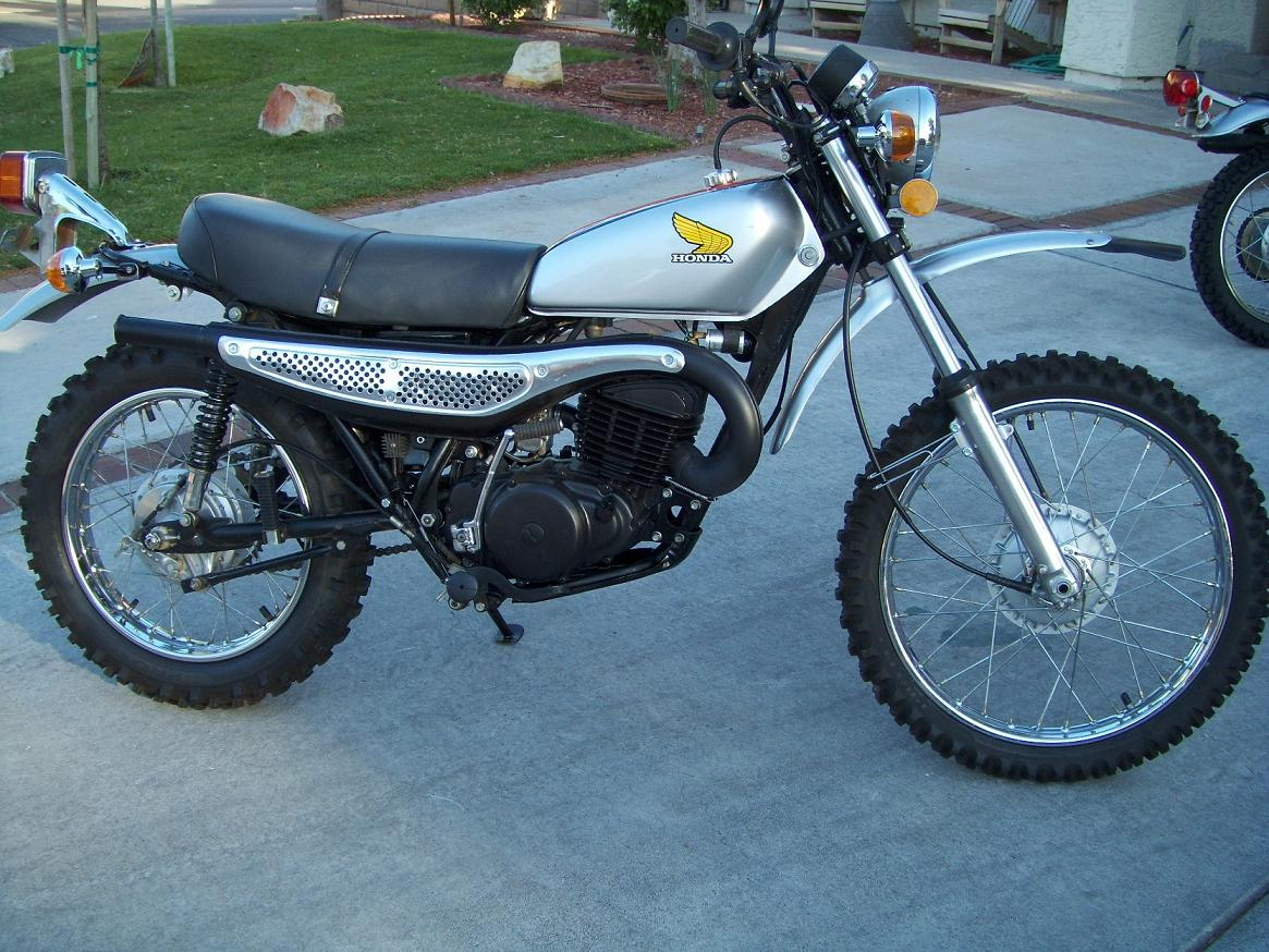 honda mt 250 elsinore #6