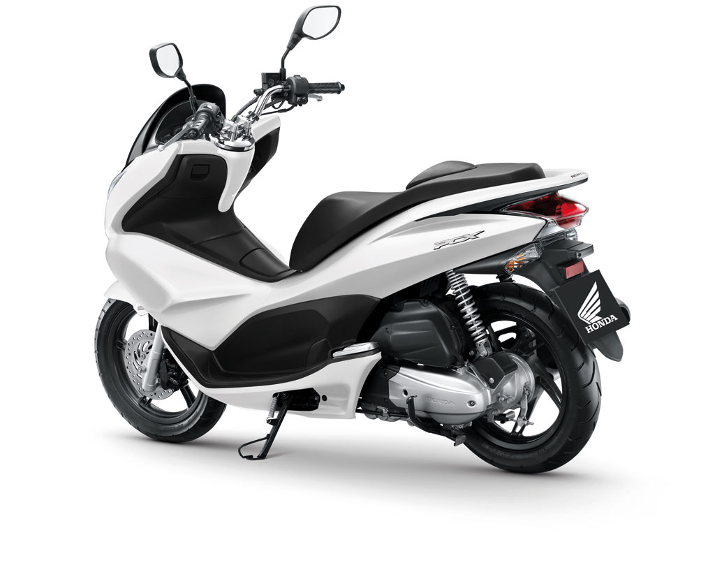honda pcx 125 photos and comments. Black Bedroom Furniture Sets. Home Design Ideas