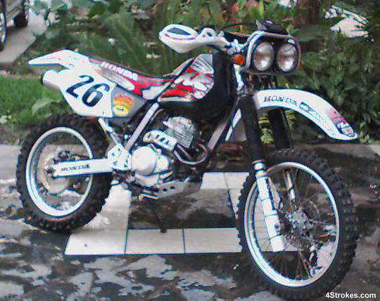 honda xlr 250 baja photos and comments. Black Bedroom Furniture Sets. Home Design Ideas