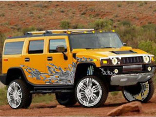 hummer h2 suv-pic. 3