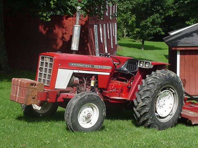 1970 574 International Tractors : International harvester photos and comments