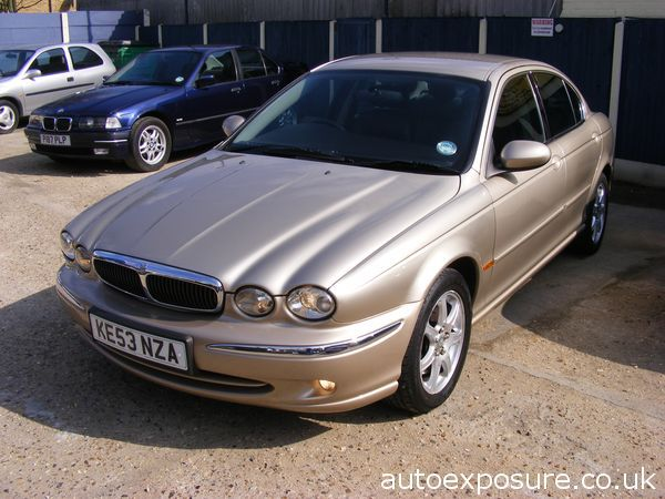 jaguar x-type 2.0 v6 se #0