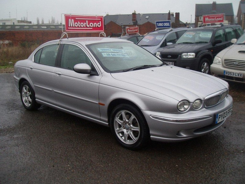 jaguar x-type 2.0 v6 se #2