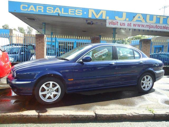 jaguar x-type 2.0 v6 se #4