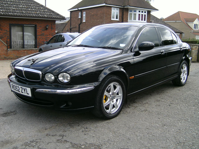 jaguar x-type 2.0 v6 se #5