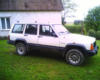 jeep cherokee 2 1 td photos and comments. Black Bedroom Furniture Sets. Home Design Ideas