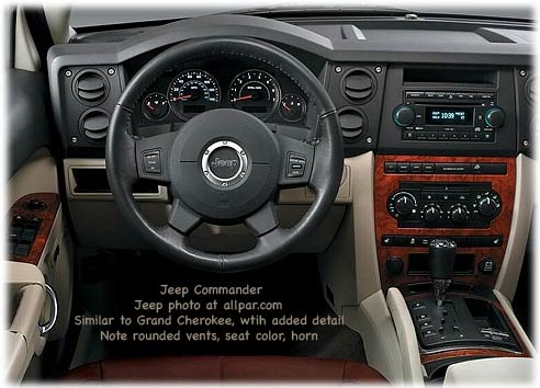 jeep commander #0
