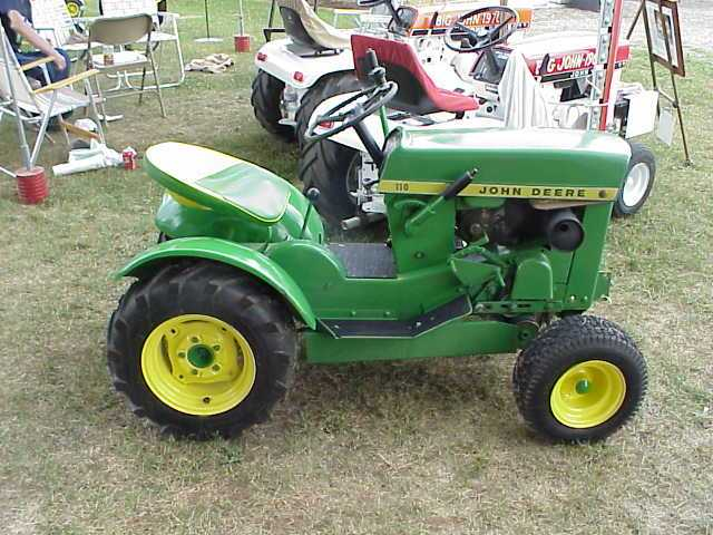 John Deere 110 Lawn Tractor : John deere photos and comments picautos
