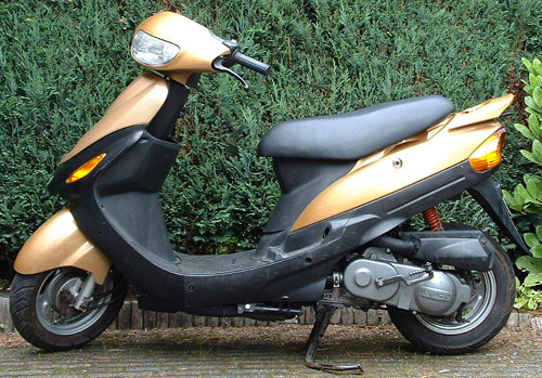 kymco filly 50 lx-pic. 1