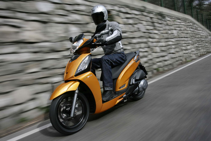 kymco people gt 200i #7