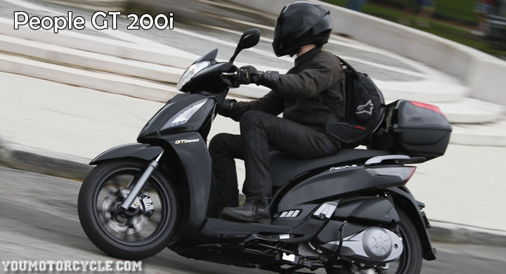 kymco people gt 200i #8
