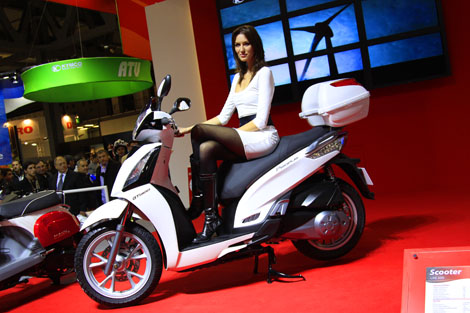 kymco people gt 300i #3