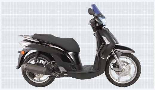 kymco people s 200 #3