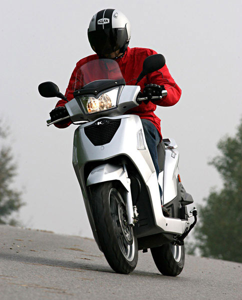 kymco people s 200 #4