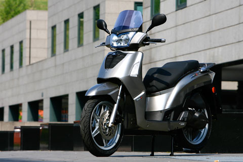 kymco people s 200 #7