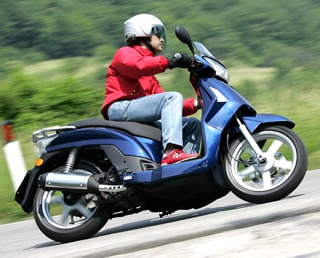 kymco people s 200 #8