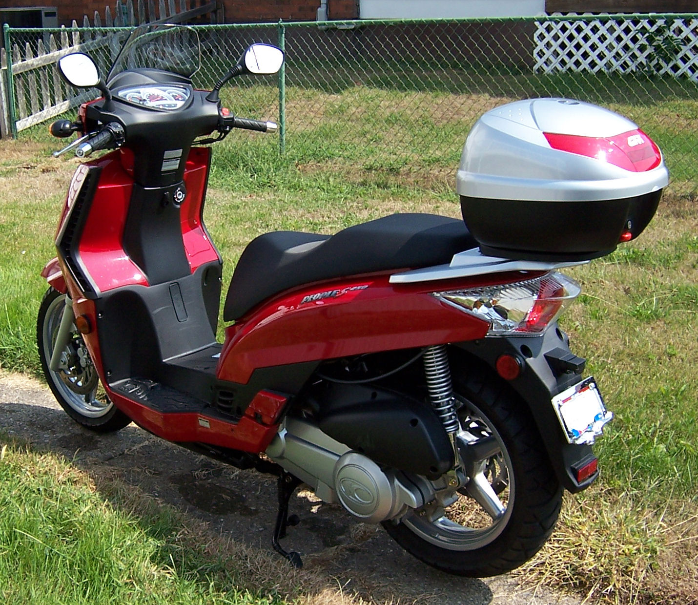 kymco people s 250 #4