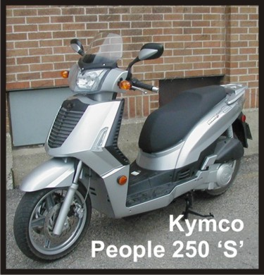 kymco people s 250 #5