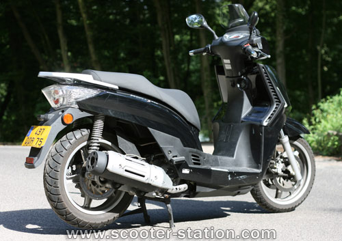 kymco people s 250 #6