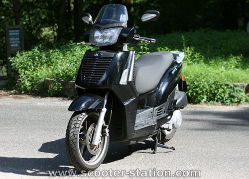 kymco people s 250 #7