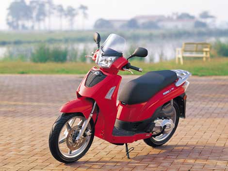 kymco people s 250 #8