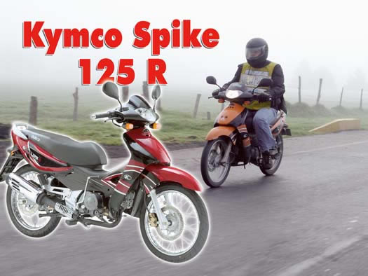 kymco spike 125 r-pic. 3