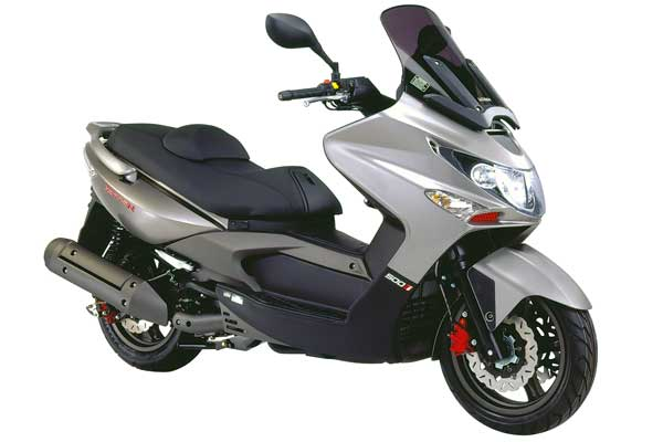 kymco xciting 500 #4