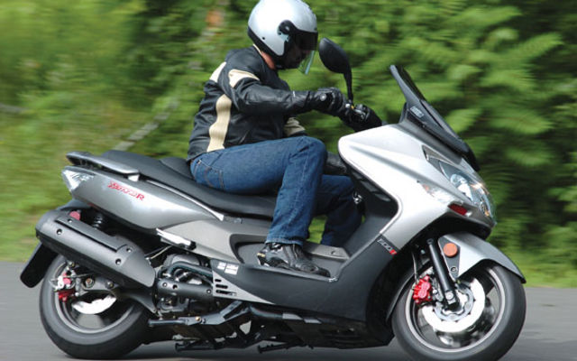 kymco xciting 500 #6