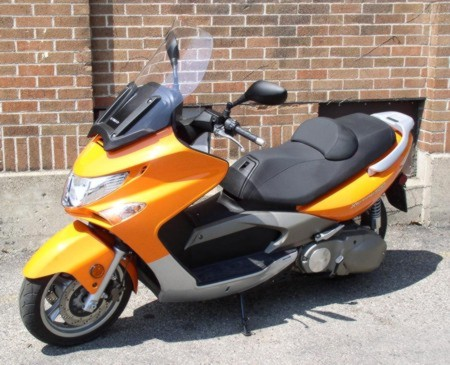 kymco xciting 500 #7