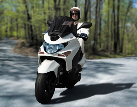 kymco xciting 500 #8