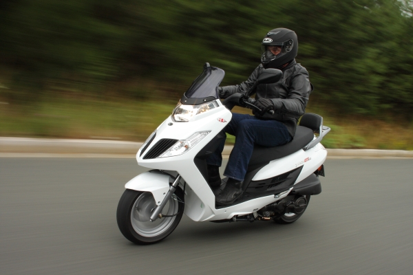 kymco yager gt 125 #3