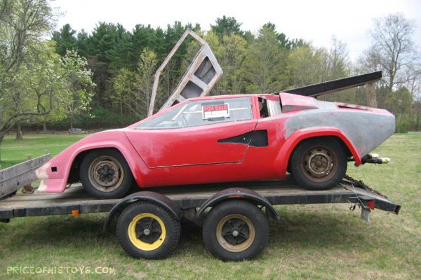 Lamborghini Countach Kit Car Photos And Comments Www