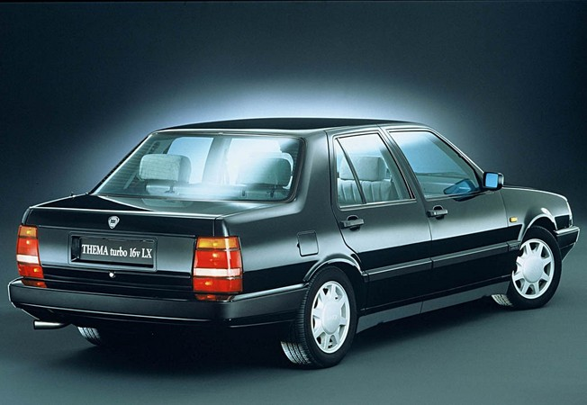 lancia thema 2.0 ie turbo #2