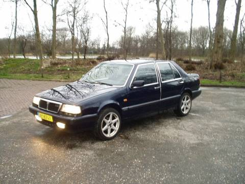 lancia thema 2.0 ie turbo #6