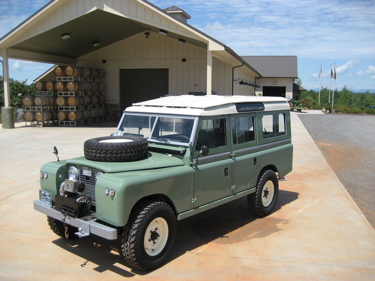 land rover 109 series iia photos and comments. Black Bedroom Furniture Sets. Home Design Ideas