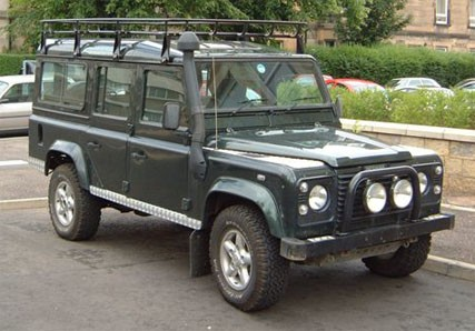 land-rover 110 station wagon #0